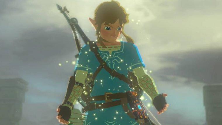 Parece que ilha inicial de Zelda: Wind Waker estava em Breath of the Wild esse tempo todo