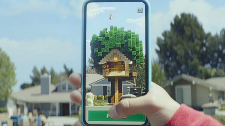 Jogo de Minecraft em realidade aumentada ganha vídeo de gameplay