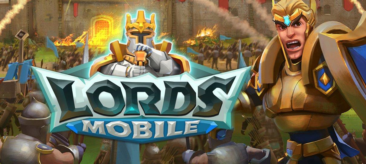 Lords Mobile chega a 270 milhões de jogadores, agora também na Steam
