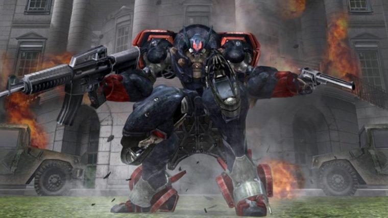 Metal Wolf Chaos, jogo clássico de mechas da From Software, será relançado