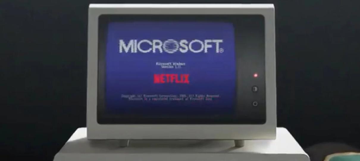 Microsoft publica teaser de parceria com Stranger Things