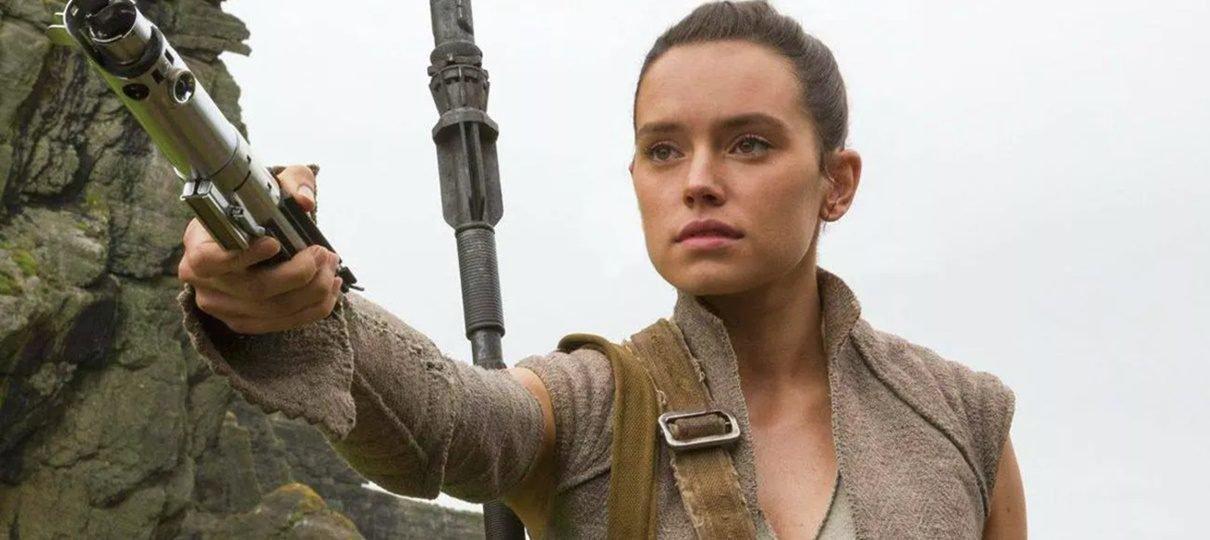Mistério sobre pais de Rey será explorado em Star Wars: A Ascensão Skywalker, diz atriz