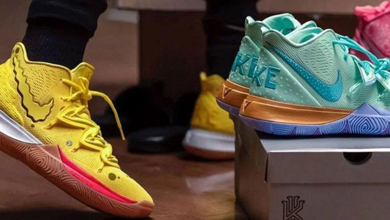 Nike anuncia linha de tênis do Bob Esponja