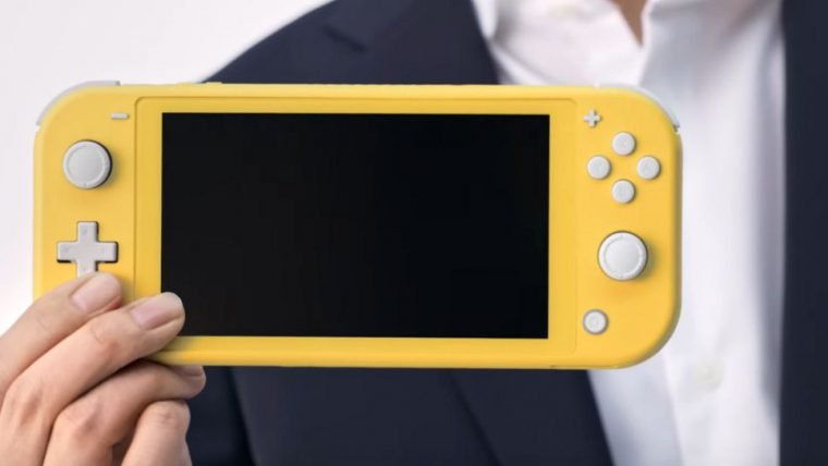 Nintendo anuncia versão menor e mais barata do Switch