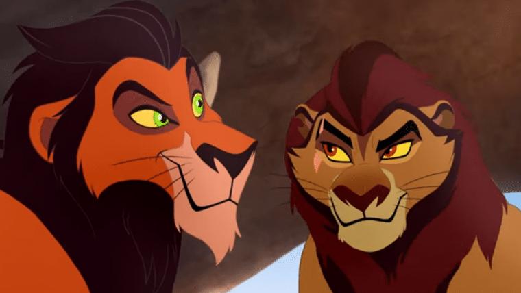 Animação do canal Disney Junior mostra como Scar conseguiu sua cicatriz