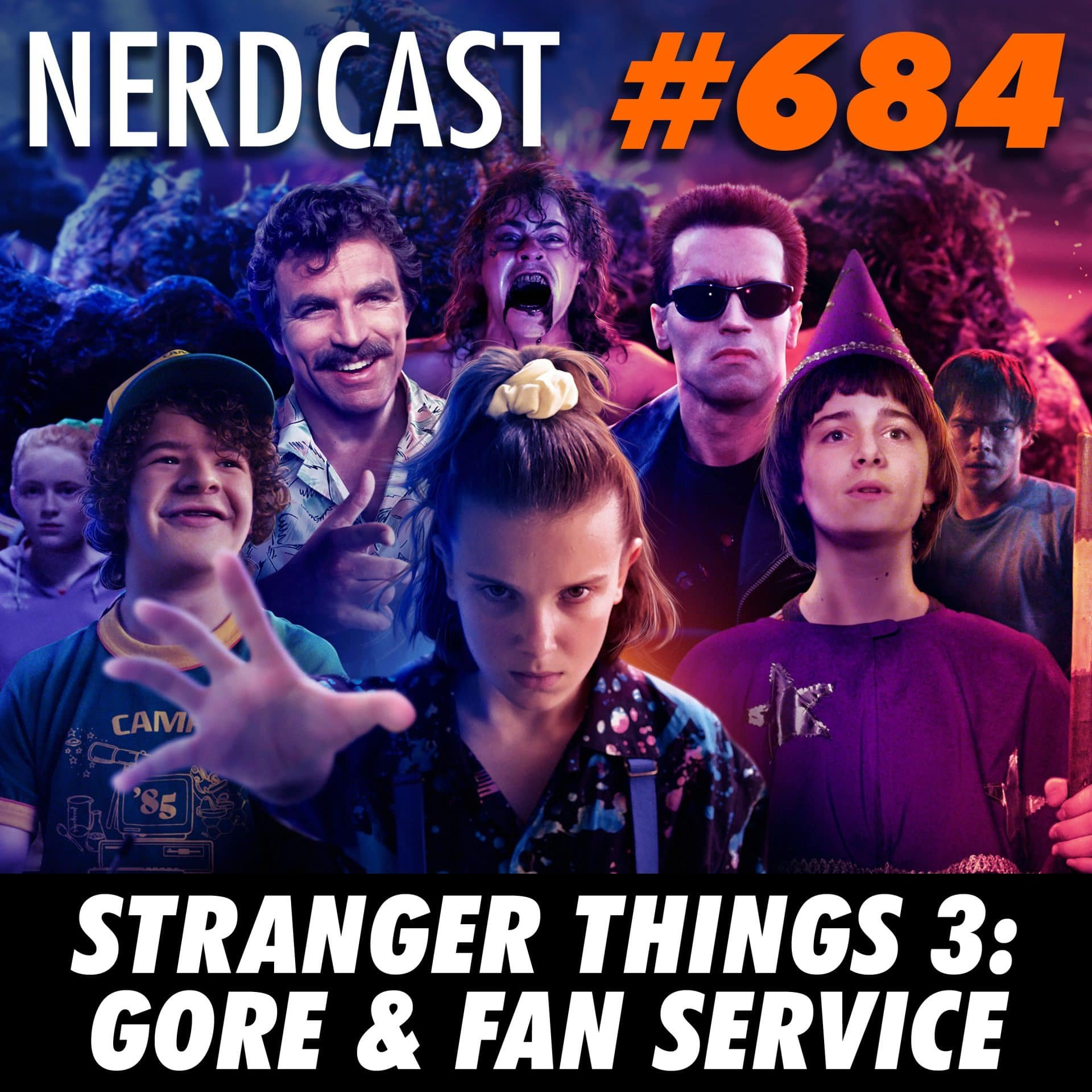 NerdCast 684 - Stranger Things 3: Gore e Fan Service