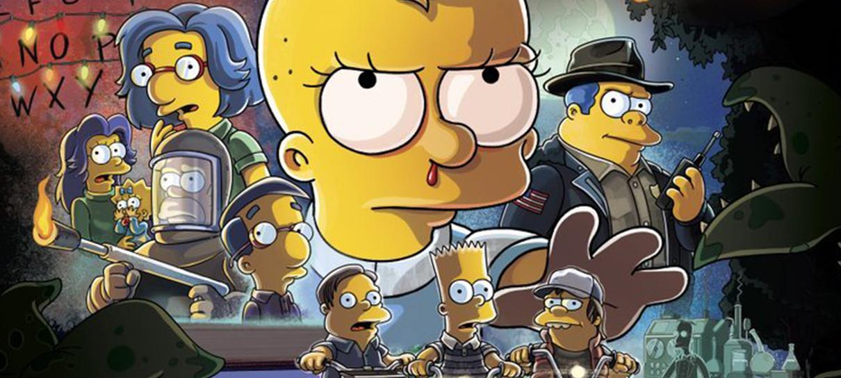 Os Simpsons | Episódio de Halloween homenageia Stranger Things