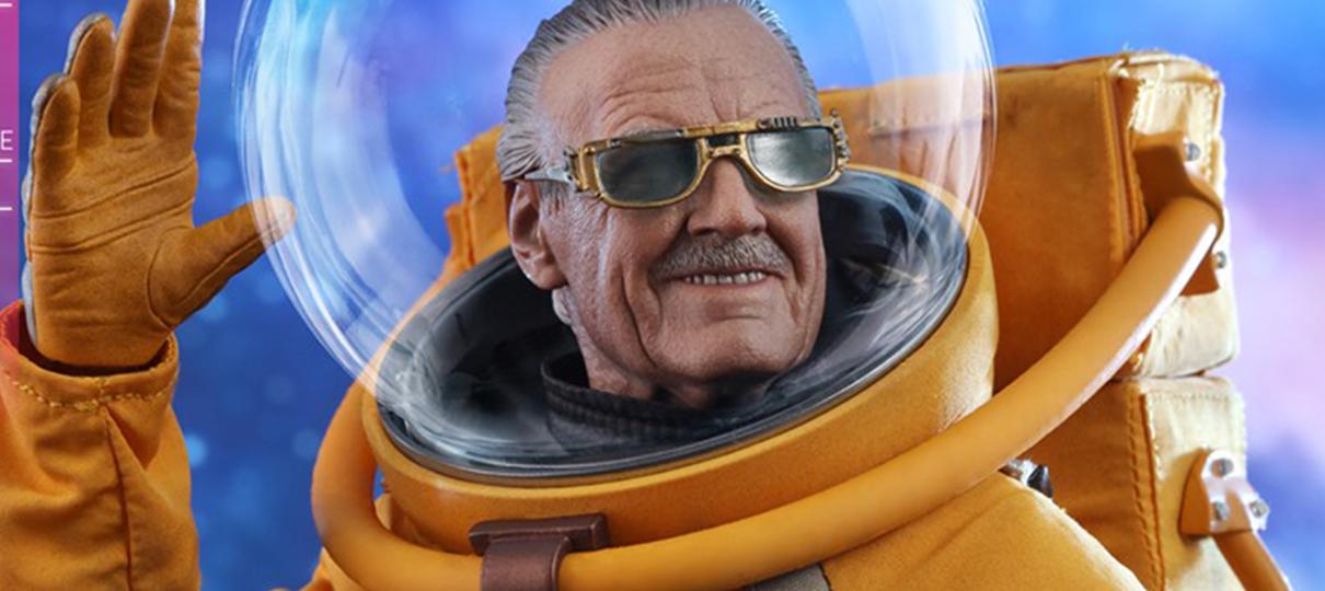 Cameo de Stan Lee em Guardiões da Galáxia Vol. 2 é eternizado em figure