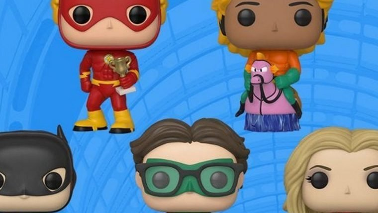 The Big Bang Theory | Funko lança colecionáveis dos personagens como heróis