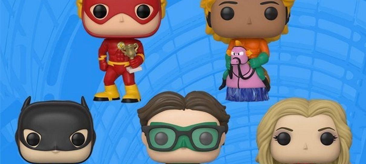 The Big Bang Theory   Funko lança colecionáveis dos personagens como heróis