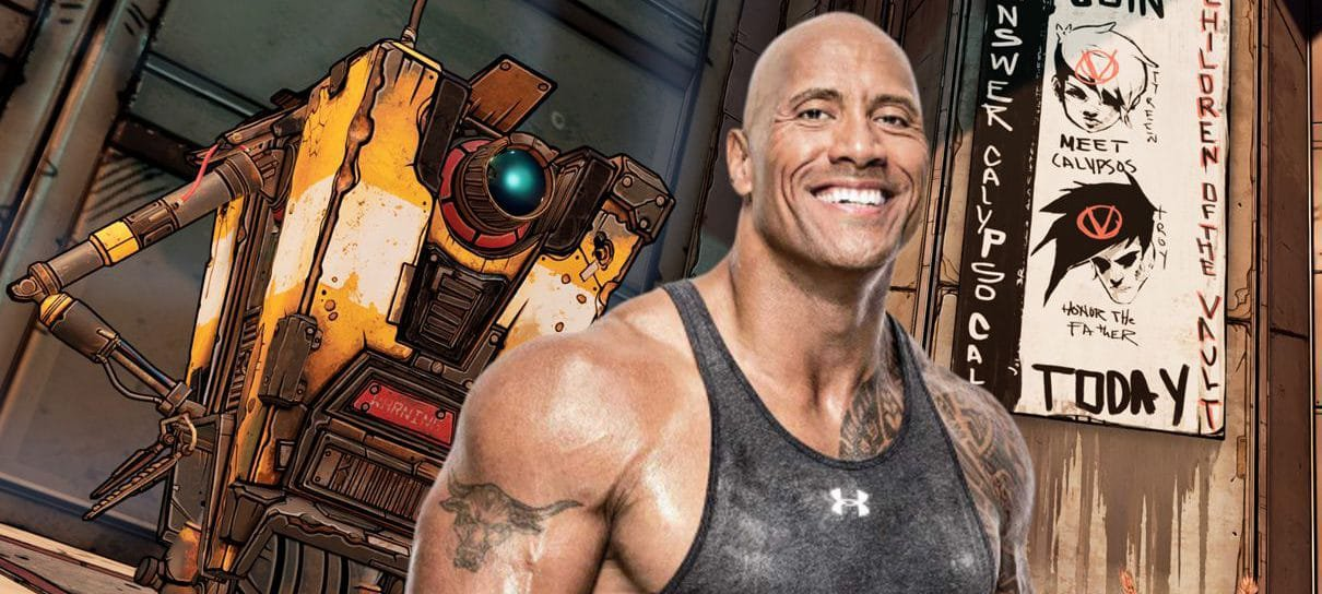 Diretor da Gearbox quer The Rock como Claptrap no filme de Borderlands