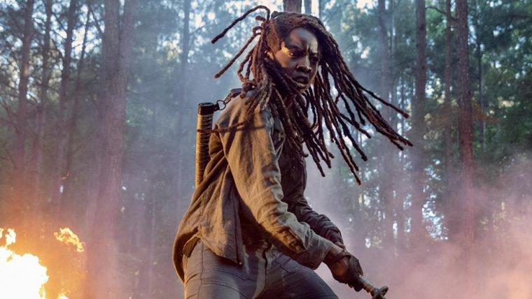 The Walking Dead | Michonne é destaque em foto da 10ª temporada