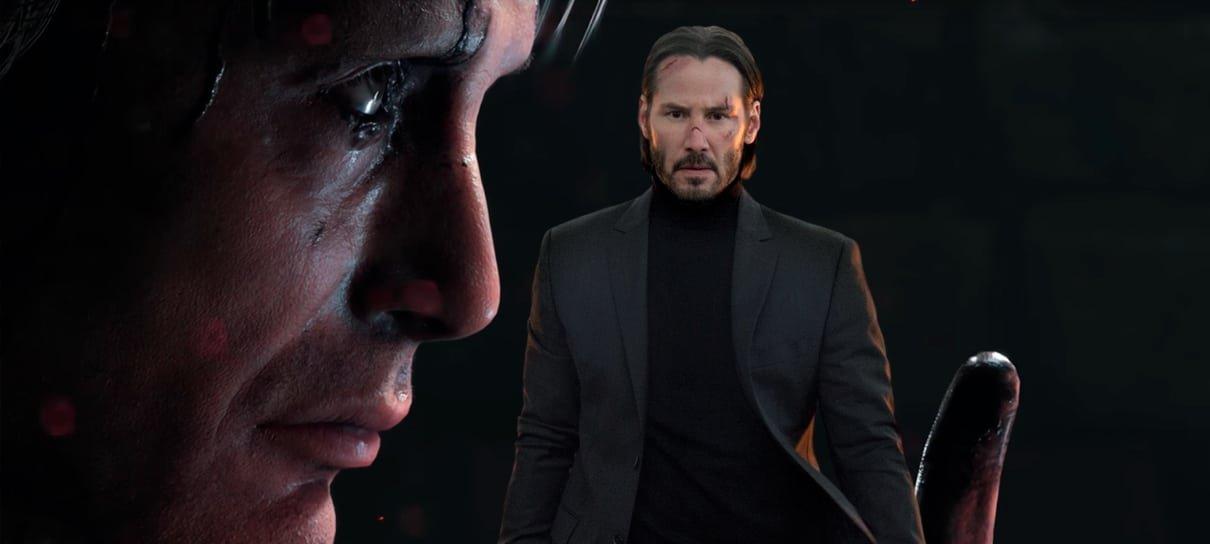 Death Stranding podia ter Keanu Reeves, mas Kojima preferiu o Mads Mikkelsen