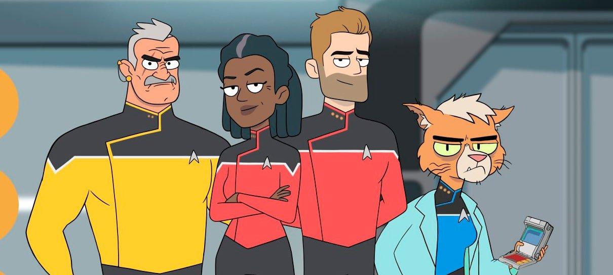 Star Trek: Lower Decks | Série animada ganha primeiras imagens e ...