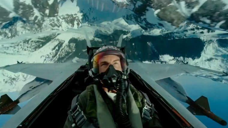 Tom Cruise está de volta no primeiro trailer de Top Gun: Maverick
