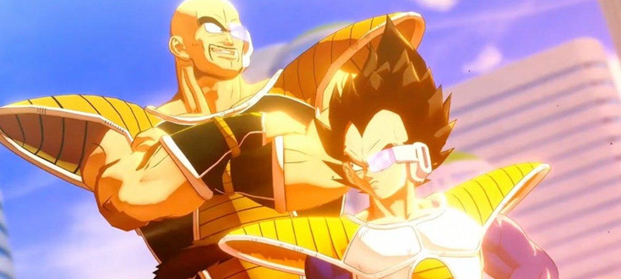 Vegeta, Piccolo e Gohan serão jogáveis em Dragon Ball Z: Kakarot