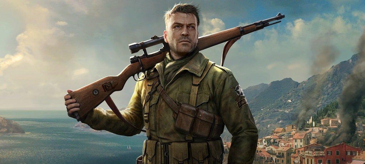 Wipeout e Sniper Elite 4 são os jogos da PS Plus de agosto