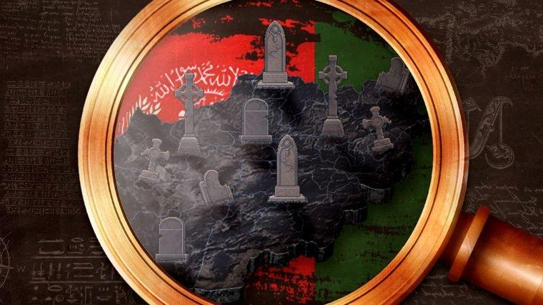 O cemitério de impérios no Afeganistão