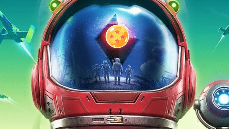 Jogador recria abertura de Dragon Ball Z com vídeos de No Man's Sky