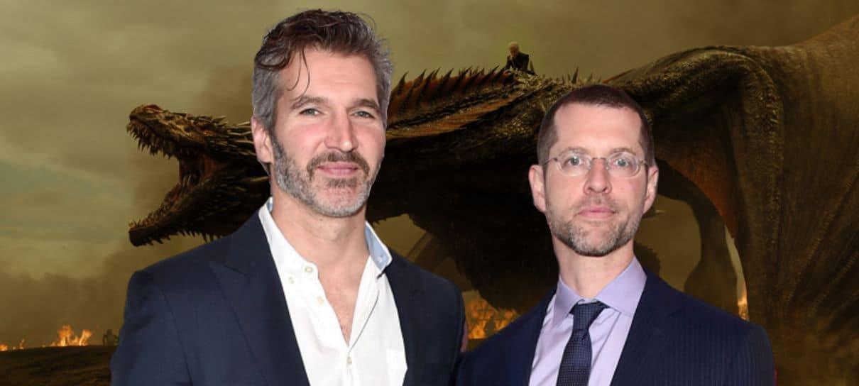 Criadores de Game of Thrones fecham acordo de US$ 200 milhões com a Netflix