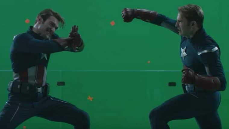 Vingadores: Ultimato   Veja como a luta dos dois Capitão América foi feita