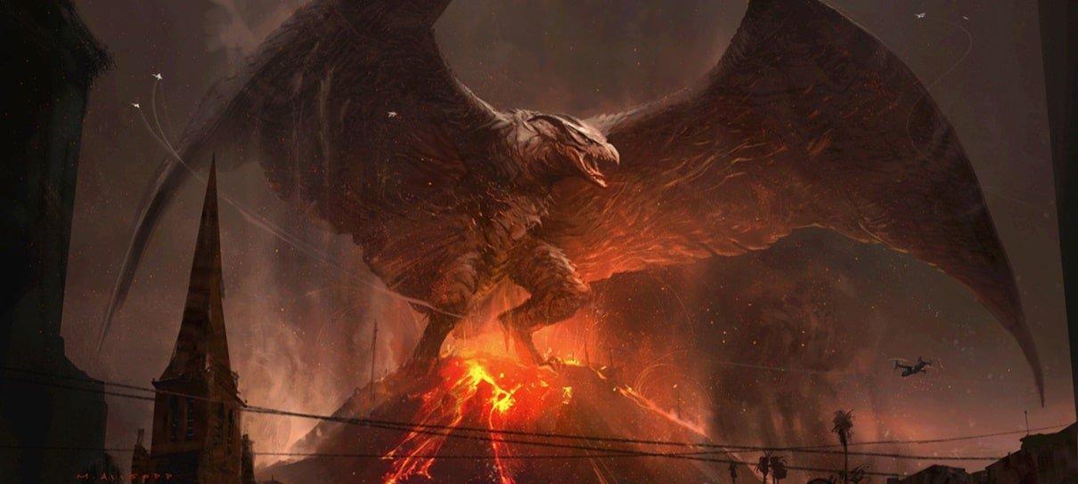 Diretor de Godzilla II revela artes conceituais incríveis dos monstros