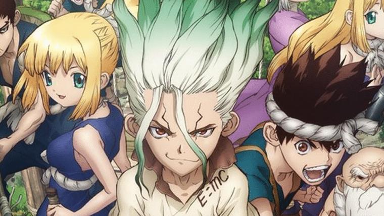 Dr. Stone   Confira o visual dos novos personagens do anime