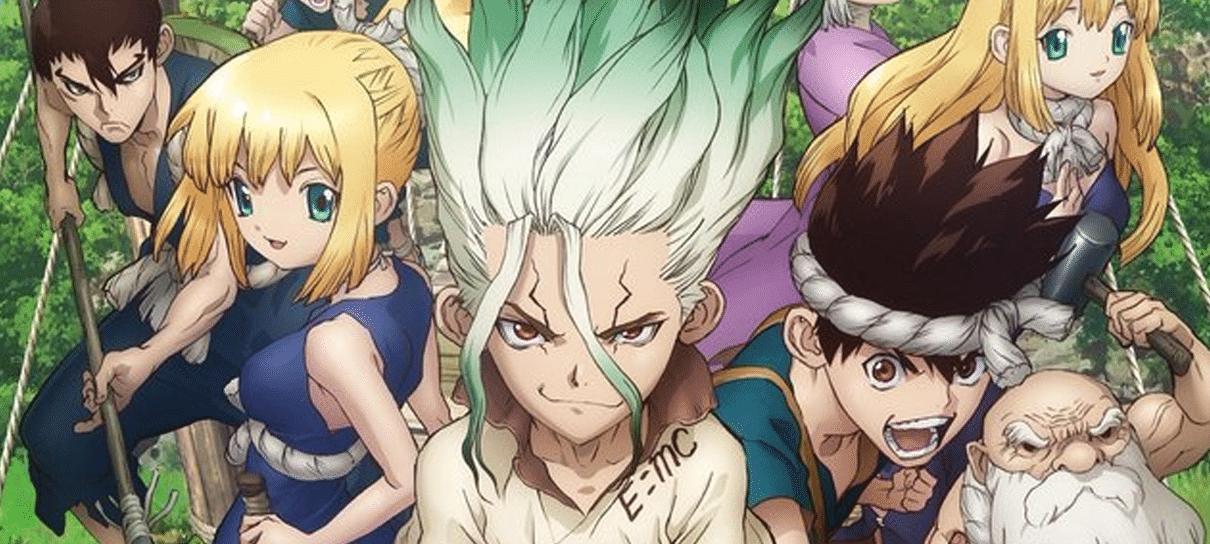 Dr. Stone | Confira o visual dos novos personagens do anime