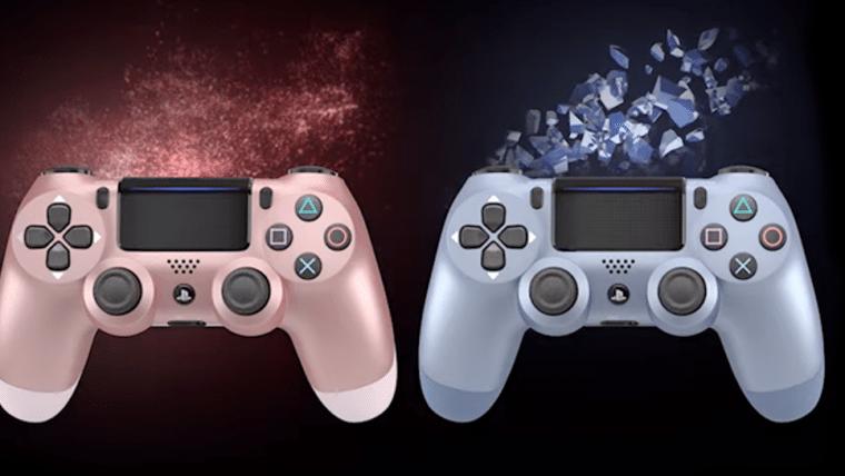 Sony anuncia quatro novas cores para DualShock 4
