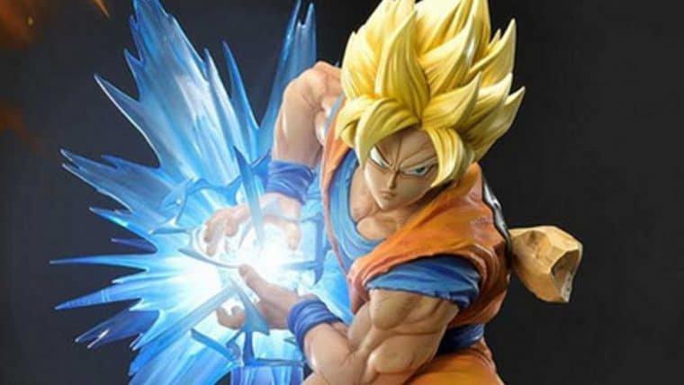 Dragon Ball | Estatueta de 63 cm do Goku vai dar um Kamehameha nas suas finanças