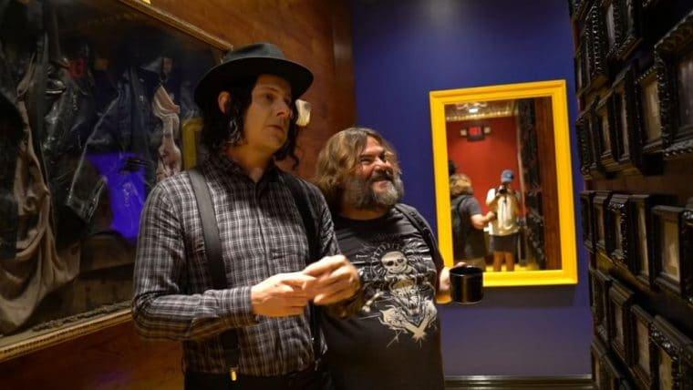 Jack Black faz parceria cheia de zoeiras com Jack White