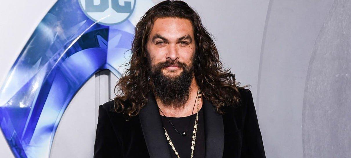 Jason Momoa não vai gravar Aquaman 2 enquanto protestos no Havaí não forem ouvidos