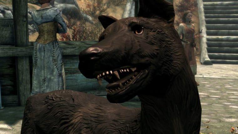 Jogador cria mod de Skyrim em homenagem ao seu cachorrinho que morreu