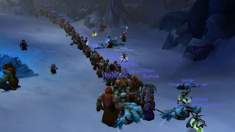 Jogadores de World of Warcraft Classic estão enfrentando filas de espera nas missões