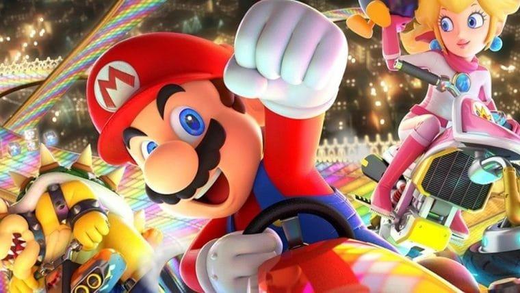 Mario Kart 8 é o jogo mais vendido do Nintendo Switch