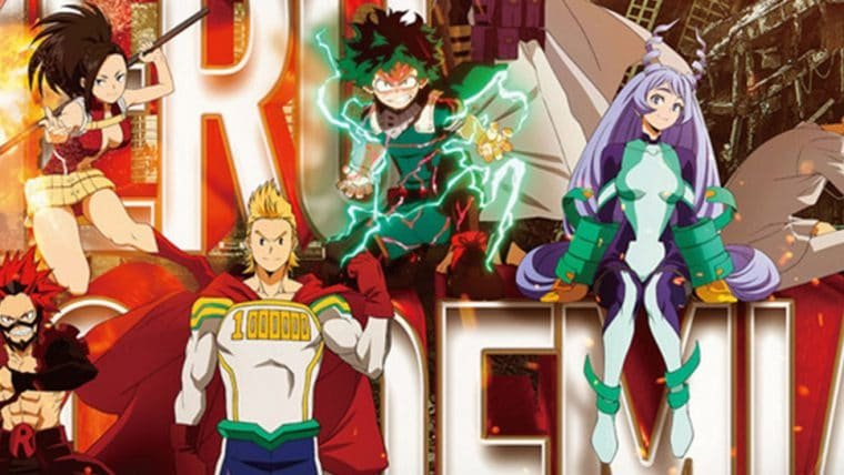 My Hero Academia   4ª temporada do anime ganha pôster destacando personagens principais