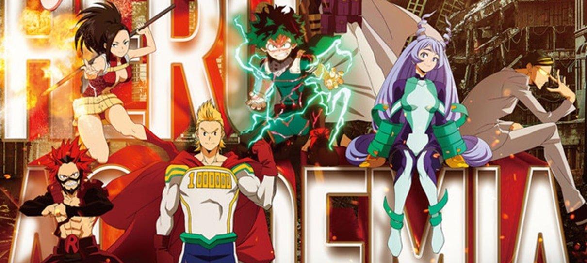 My Hero Academia | 4ª temporada do anime ganha pôster destacando personagens principais