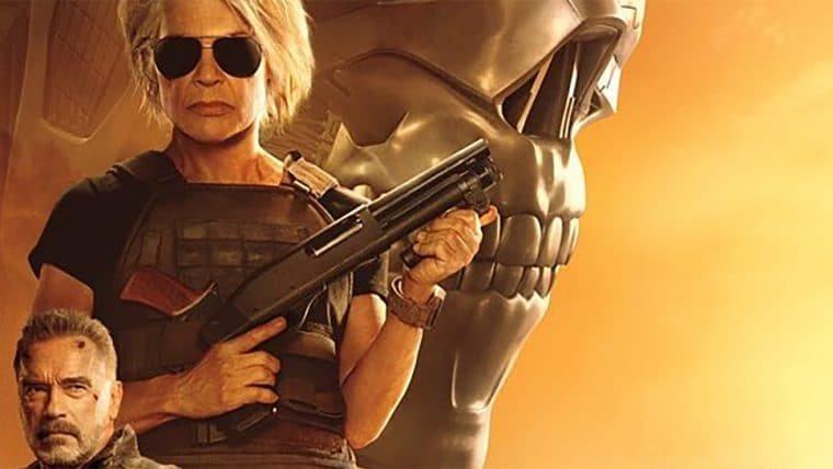Sarah Connor e T-800 figuram novo pôster de O Exterminador do Futuro: Destino Sombrio
