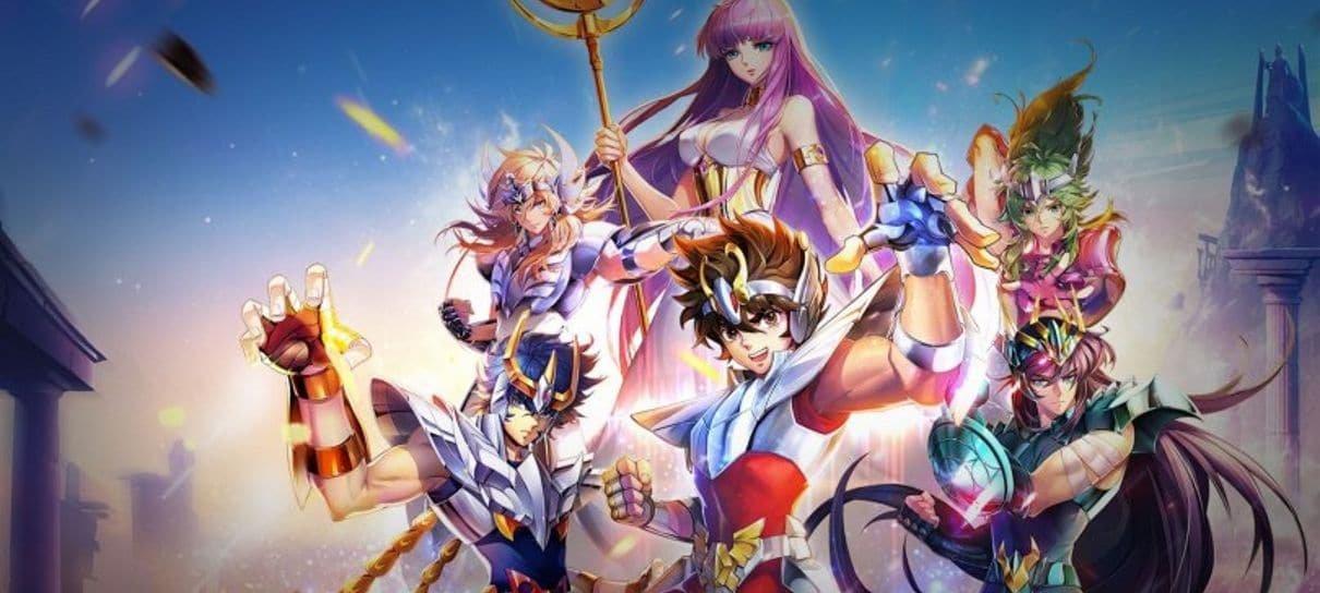 Saint Seiya Awakening: Knights of the Zodiac já está disponível para pré-registro