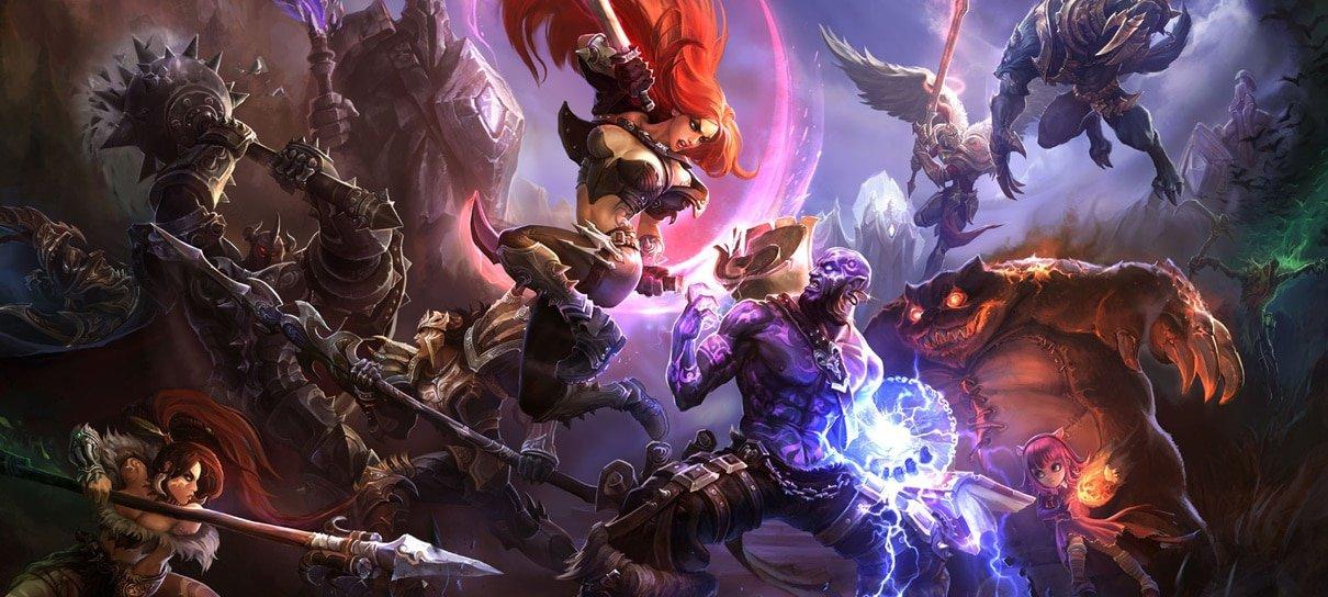 Riot lança site que mostra quanto você já gastou com League of Legends