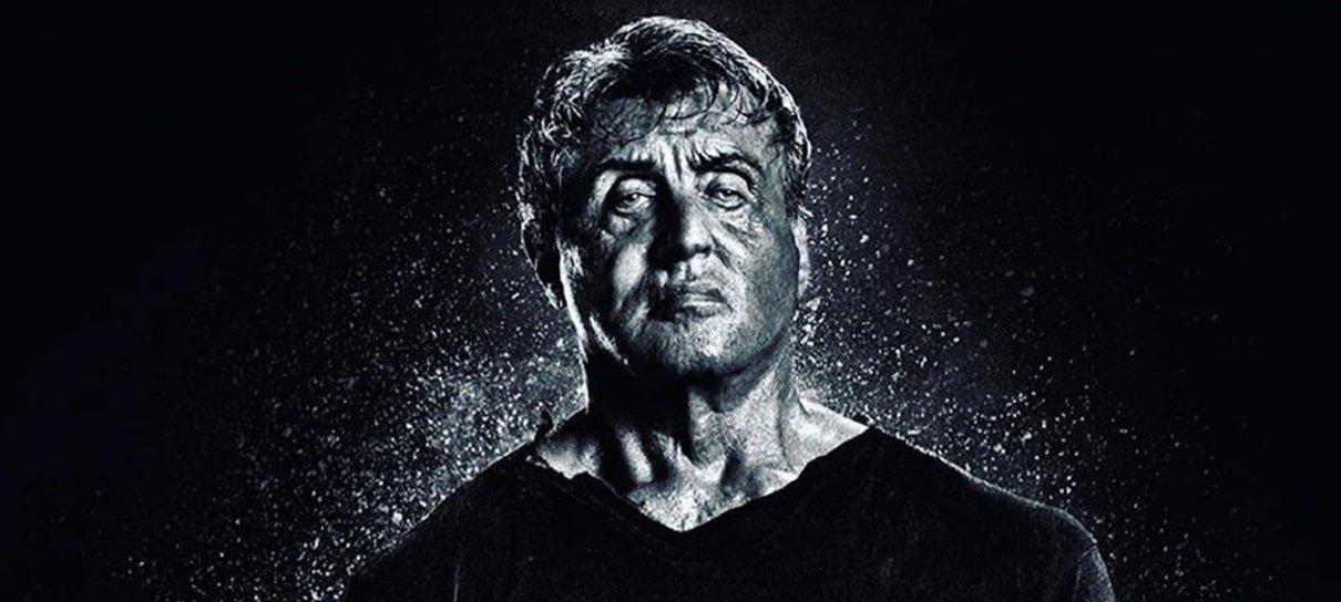 Stallone revela mais um pôster de Rambo: Até o Fim