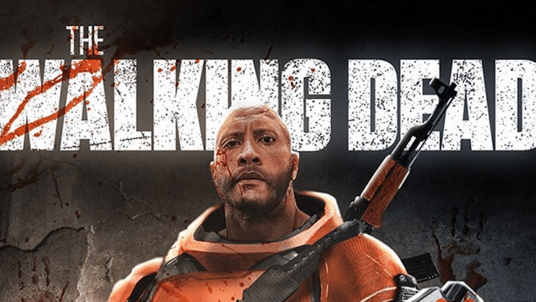 Bosslogic imagina The Rock como Mercer, personagem dos quadrinhos de The Walking Dead