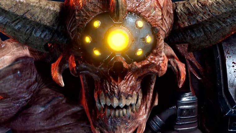 Doom Eternal | Trailer revela o novo inimigo Doom Hunter