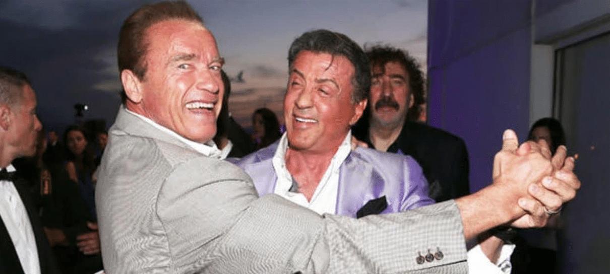 Rambo: Até o Fim | Arnold Schwarzenegger zoa e deseja boa sorte para Stallone