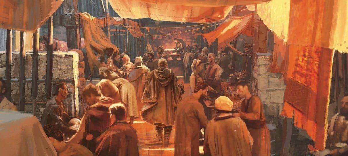 Confira algumas imagens de The Art of Game of Thrones