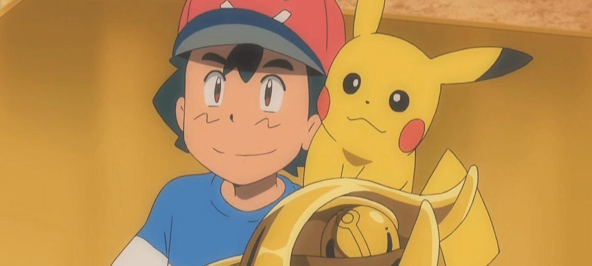 Ash finalmente vence Liga Pokémon em anime