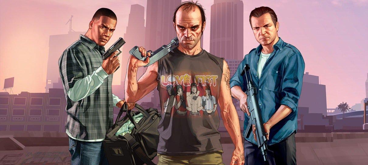 Atores dos protagonistas de GTA V são confirmados na BGS 2019