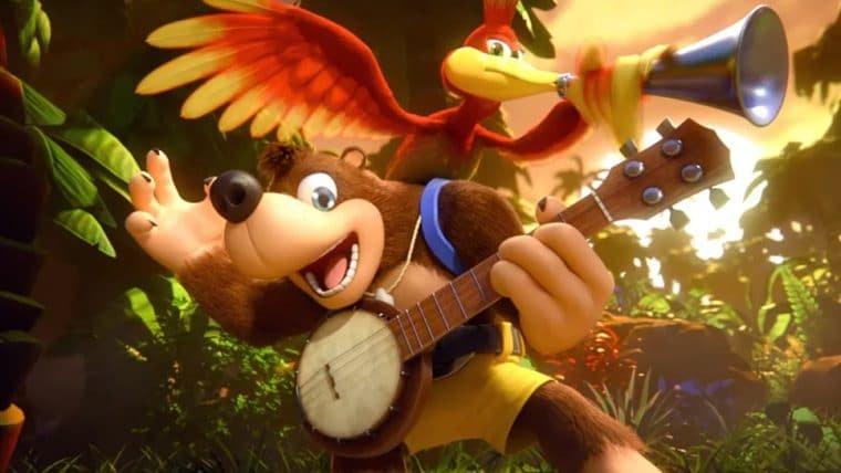 Banjo e Kazooie estarão disponíveis em Super Smash Bros. Ultimate ainda hoje (4)!