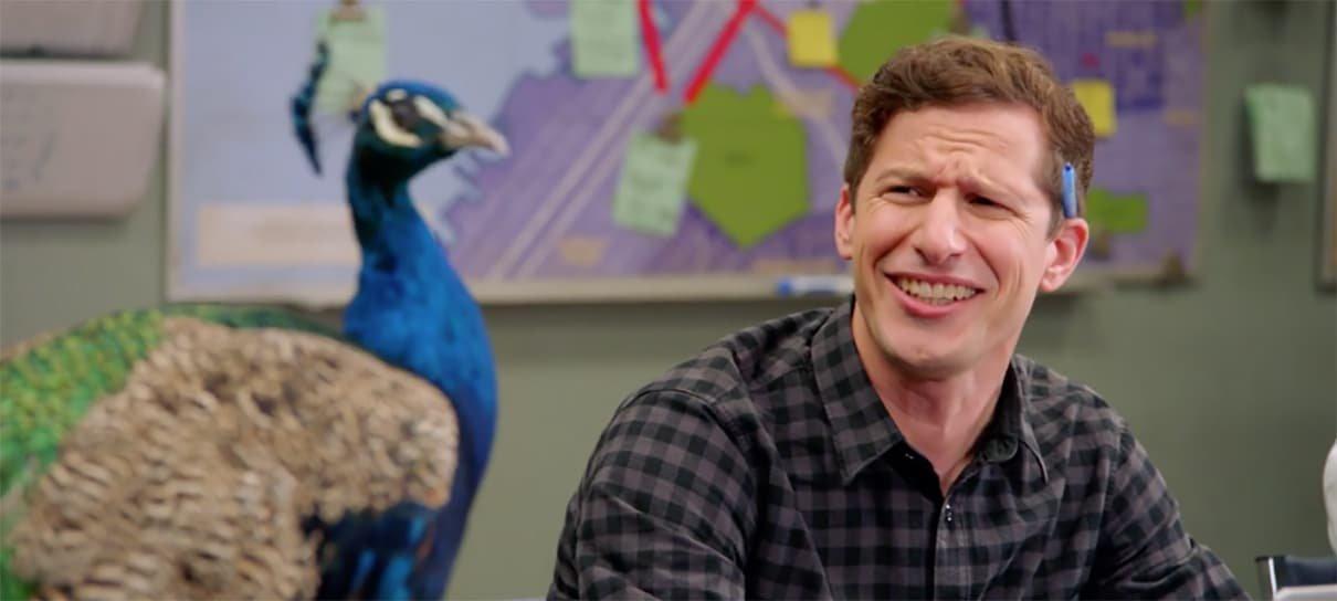 Brooklyn Nine-Nine ganha vídeo sobre novo chefe: o pavão da NBC
