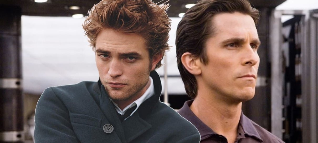Christian Bale elogia e ainda dá conselho para Robert Pattinson sobre papel de Batman